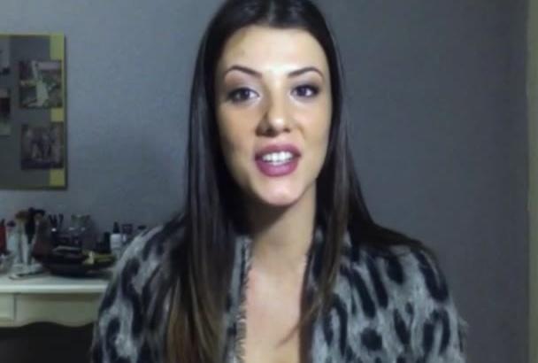 do testimonial video in English or Italian for you