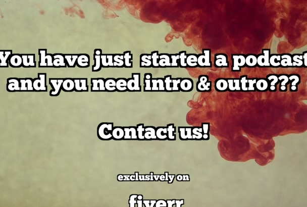 create a custom Intro and Outro