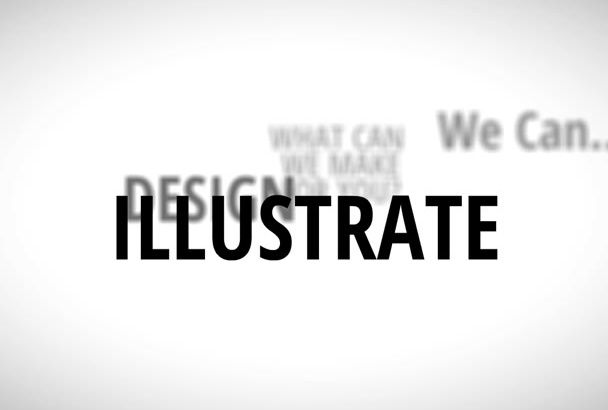 make 2Min Text Typography Animation Video