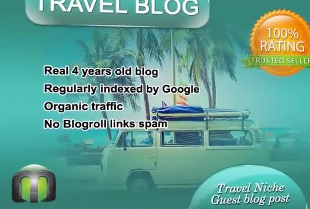 write and guest post on my TRAVEL blog