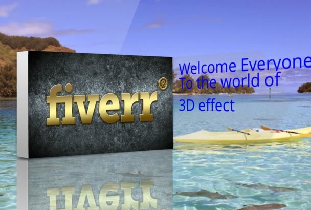 make an amazing 3D distance motion effect presentation today