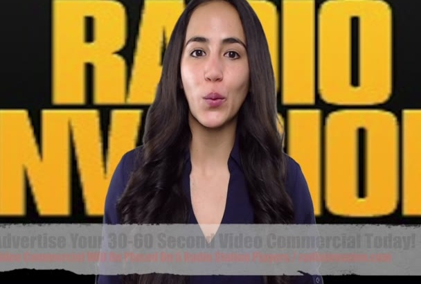 advertise your video commercial on 5 Radio Station Players For 1 Month