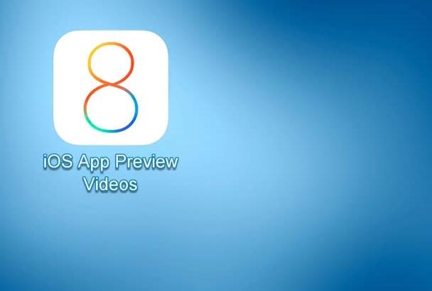 make App Previews video for iOS 8