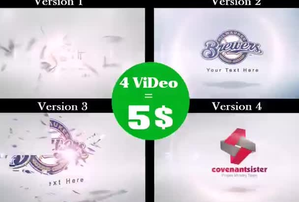 make FOUR Elegant Video Intro