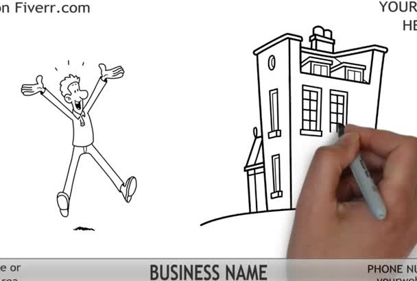 create this Real Estate Whiteboard Animation