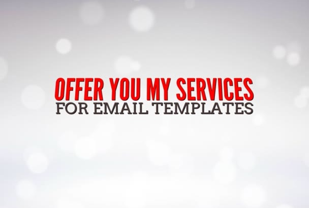 create email template HTML