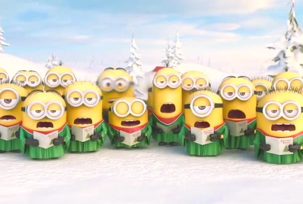 despicable Christmas Tree video