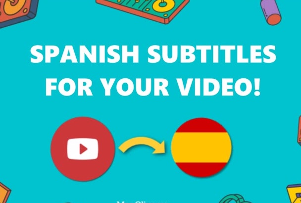 add flawless Spanish subtitles to your video