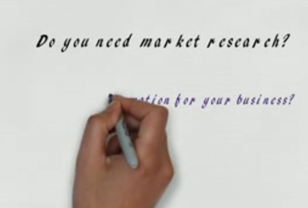 do market research, data scraping and mining