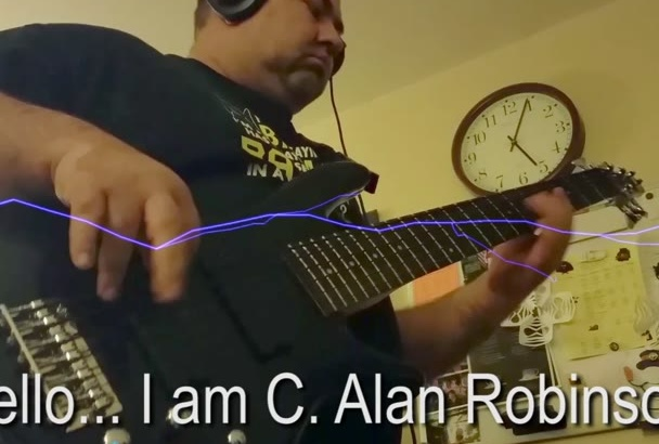 play and record rock BASS guitar for your original song
