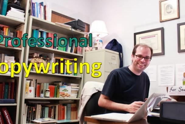 do Professional COPYWRITING for your Website or Startup