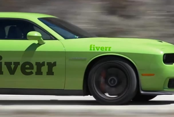 promote your Business on muscle car video Dodge Challenger