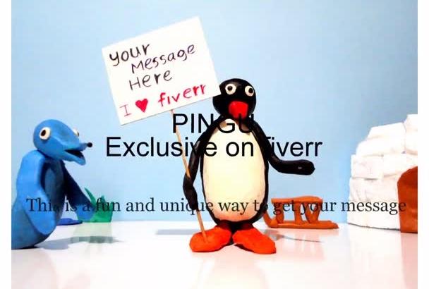 create your Pingu cartoon