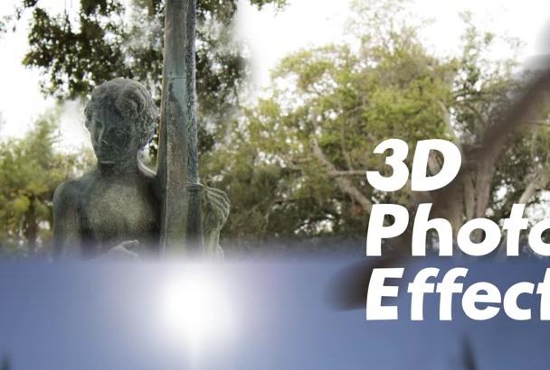 create a parallax 3d effect to photo