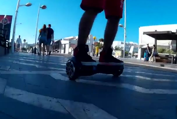 do segway, hovrboard exclusive video promo