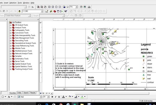 create maps using arcgis