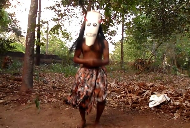 show your message as a dancing tribal