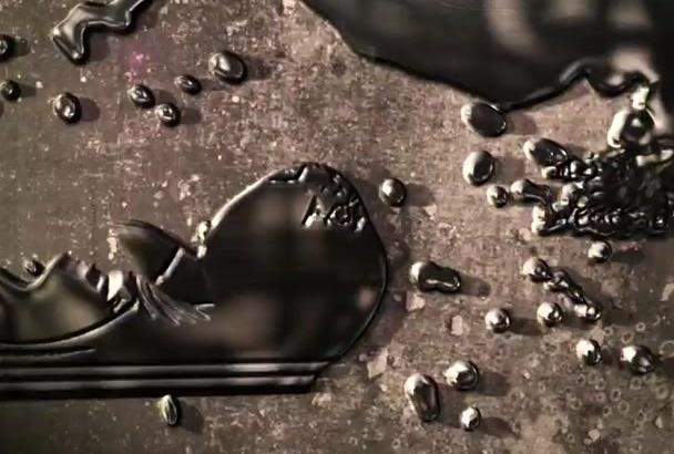 create an AMAZING Liquid Metal Video Intro Animation