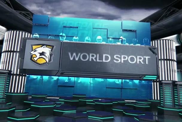 create amazing sports video promo