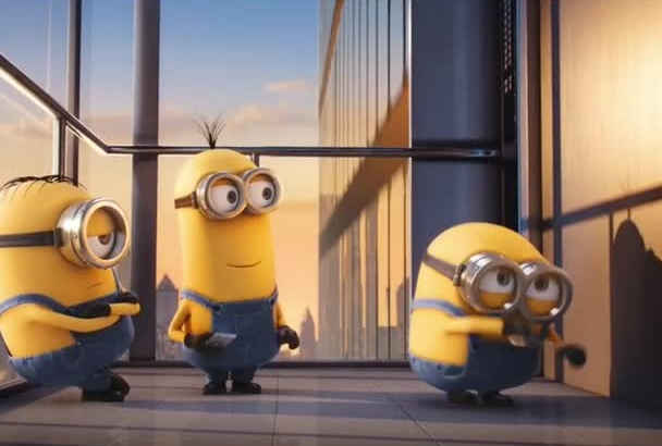 add your logo in this Minion funny song video