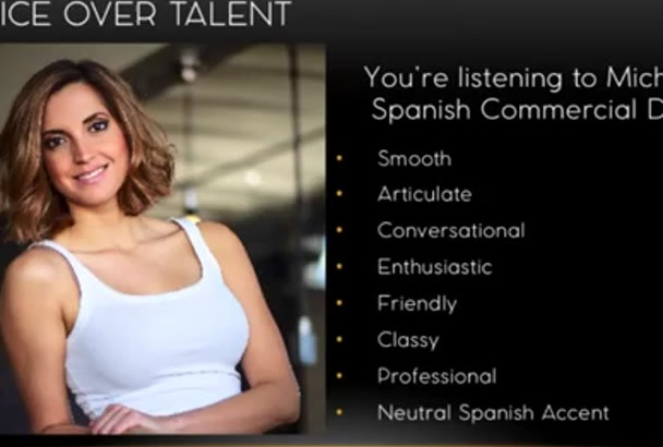skillfully record your Spanish or English Voice Over