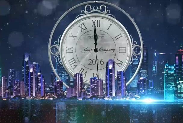 create amazing new year video