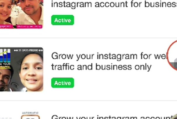 manage and Grow your instagram for website traffic