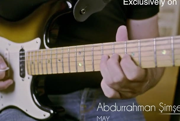 record the most beautiful guitar solo for you
