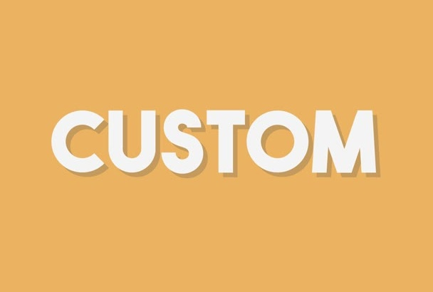 create Custom Flat Animations