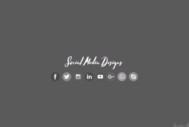 design social media banners and posts