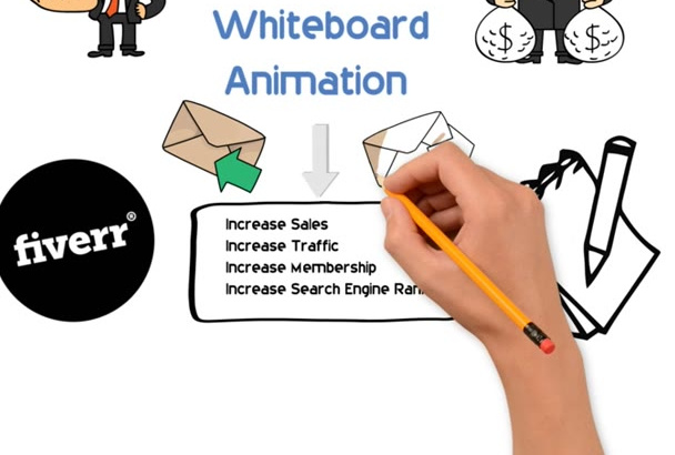 create an incredible Whiteboard animation video for anything