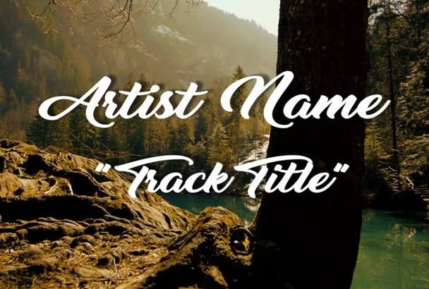 create a Forest Woodland music video for your song