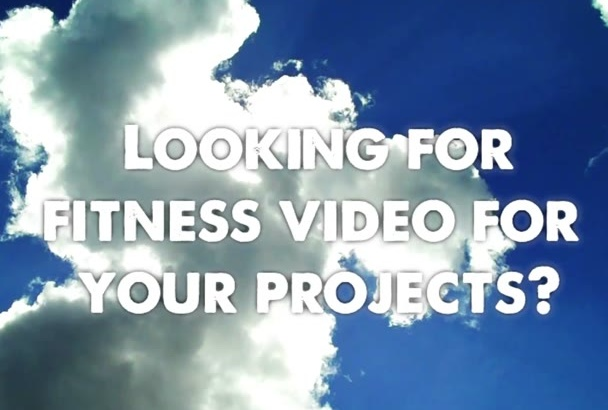 give you royalty free fitness exercises videos