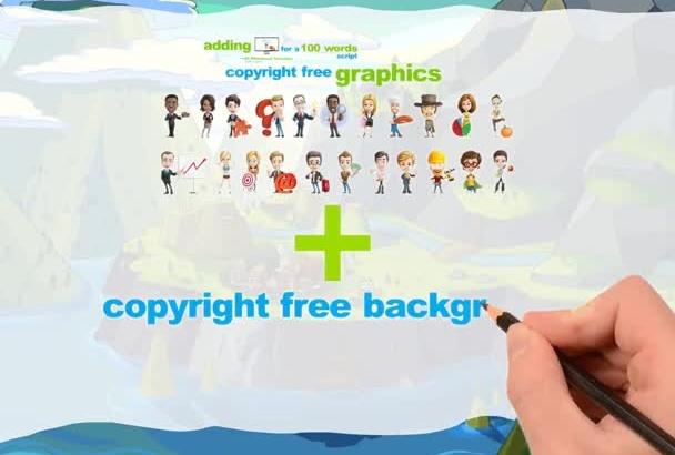 create a Custom Professional Whiteboard video