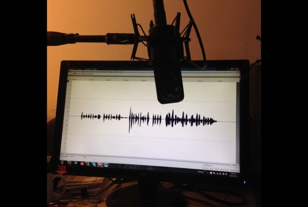 record a Professional Narrator Voiceover