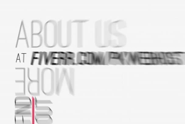 create this great quick Flip promo Video for Website etc