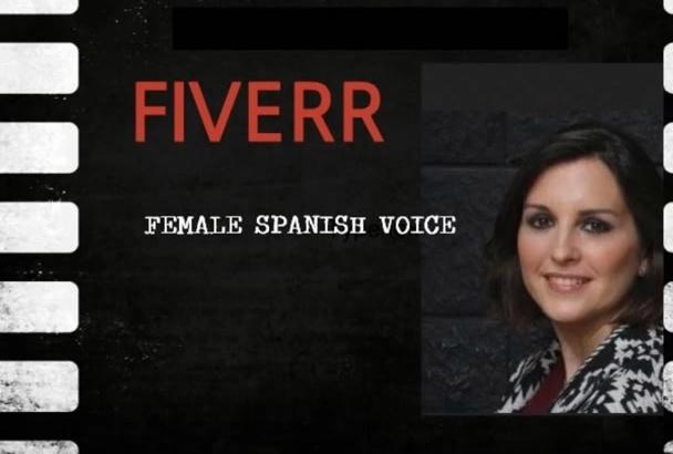 locutar con una voz femenina profesional de España