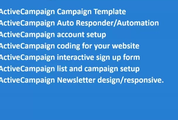 be your ACTIVE campaign expert