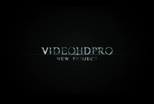 create video intro trailer