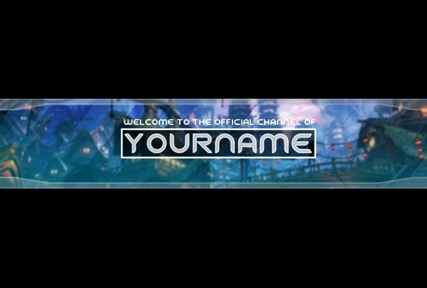 create Amazing YouTube Channel Art Banner