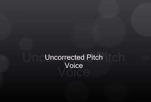pitch correct your vocal tracks