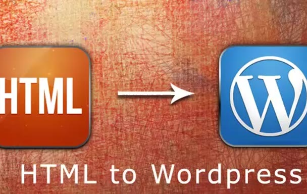 convert your HTML template into a Wordpress theme