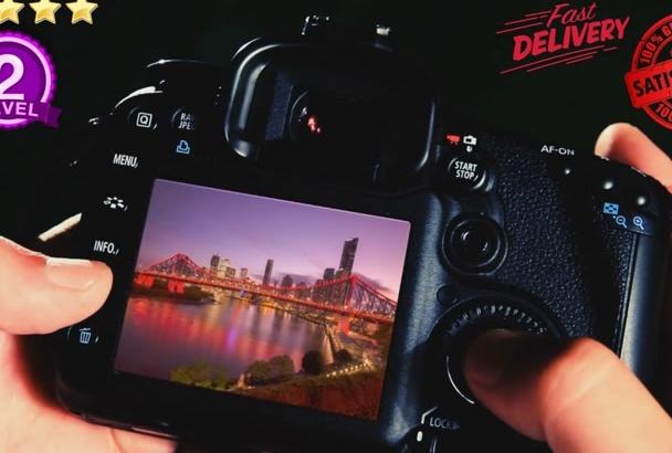 make this DIGITAL Photographer Promo Video Intro