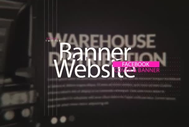 design facebook banner  social media any 24 hours
