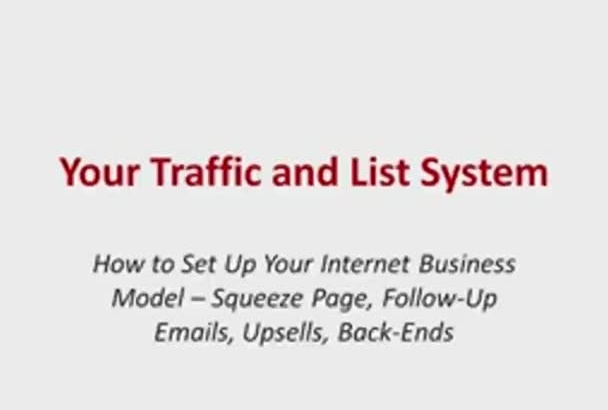set Up Your Internet Business Model  Squeeze Page