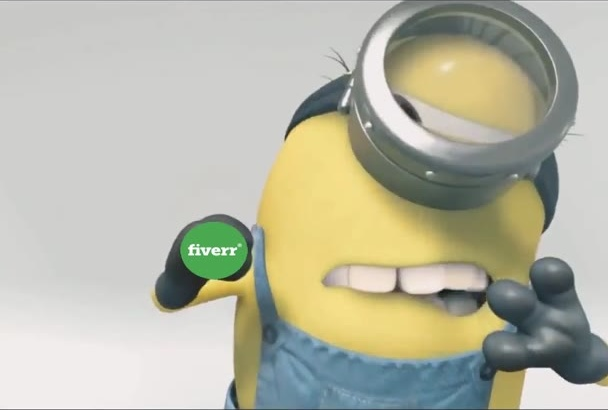 make you minions cleaning glass promotional video