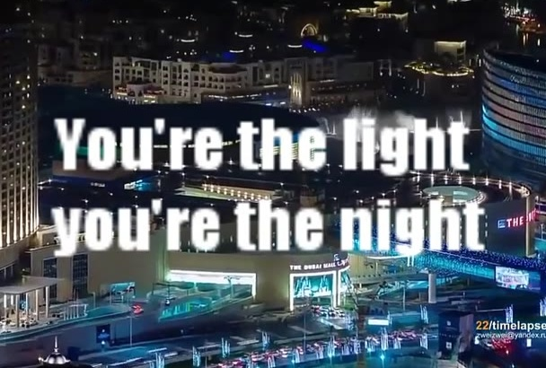 create a hd lyrics video of your song with special effects