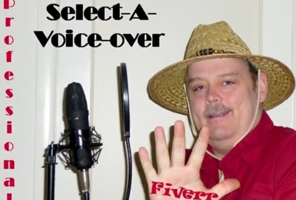 professional Commercial Voice Over Cowboy Pirate Celebrity Character Radio