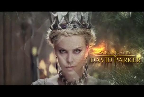 create amazing Cinematic Movie trailer and intro
