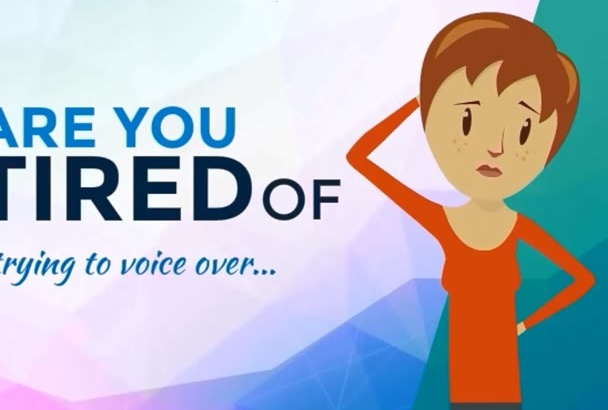 do best voice over for your script or text